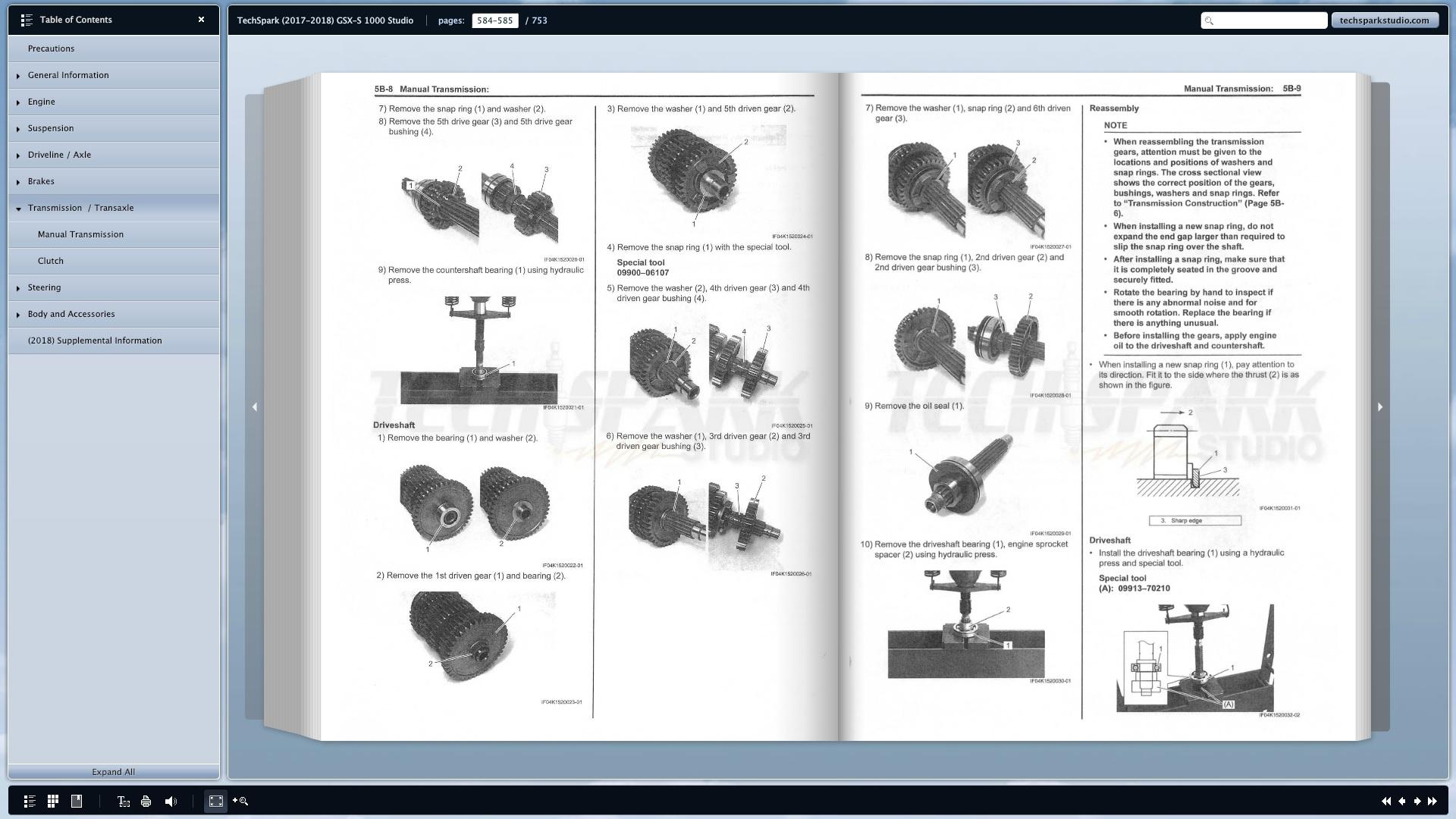 Service Manual Shows Gsr 750 Diagrams Gsxs 1000 Forum